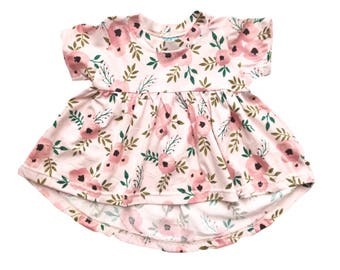 pink springtime Tunic