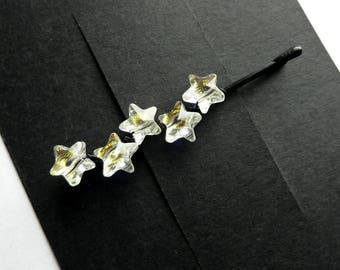 Stars Swarovski Crystal Bobby Pin