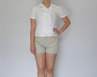 vintage. 1970s chino shorts
