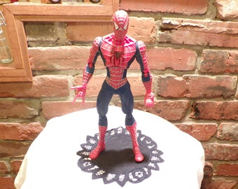 Spiderman Action Figurine, Large Spiderman, Spiderman, Hasbro Spiderman Figurine, Morethebuckles
