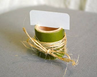 Place cards bamboo