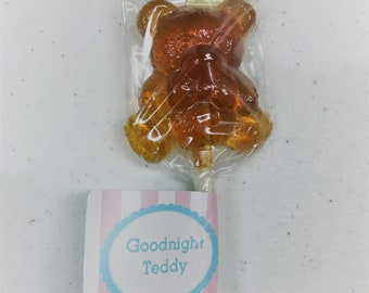 Goodnight Teddy lollipops 12 count