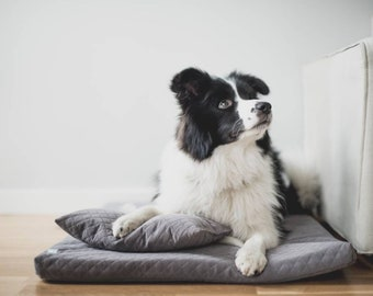 DOG BED - comfortable dog bed, Orthopedic Dog Bed, memory foam bed, all sizes