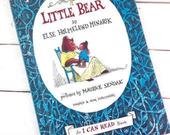Vintage Little Bear I Can Read Book / Else Homelund Minarik / Maurice Sendak