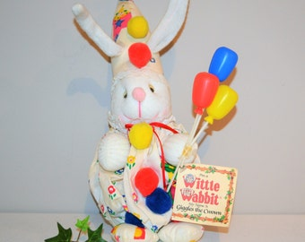 Vintage Wittle Wabbit Giggles The Clown 1978
