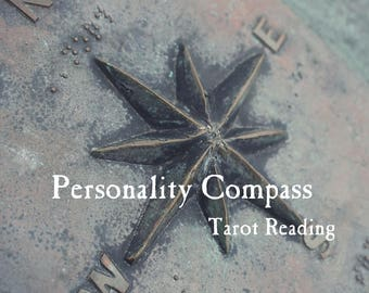 Personality Compass Tarot Reading | Self-Discovery, Self-Acceptance & Self-Love