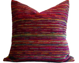 Robert Allen Pillow Cover Sunset Blvd Beet