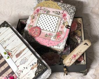 Junk journal in the box-prima-Rossi Belle-Vintage