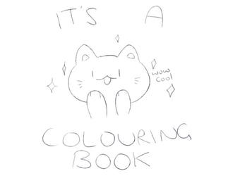 Super Cool Colouring Book