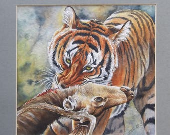 """Original Painting - """"In For The Kill"""""""