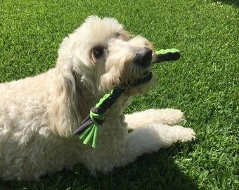 T shirt Square Braid Dog Chew Toy