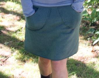 Fleece Perfect Pocket Short Skirt