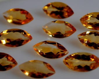 6x12  mm natural citrine marquise  faceted  loose gemstone AAA quality
