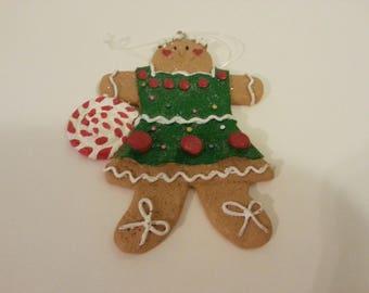 Gingerbread Girl Tree Ornament