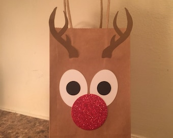 Red Nose Gift Bag