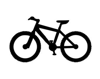 "Mountain Bike Biking MTB ATB Bicycle XC Downhill - Vinyl Decal Sticker - 5.5"" x 3"" *Free Shipping*"