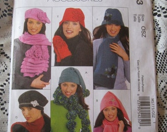 McCall's Fashion Accessories Pattern M5773 - Scarves