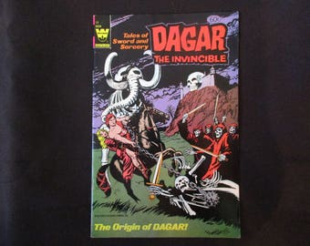 Dagar The Invincible #19 (Whitman/Origin of Dagar) 1972
