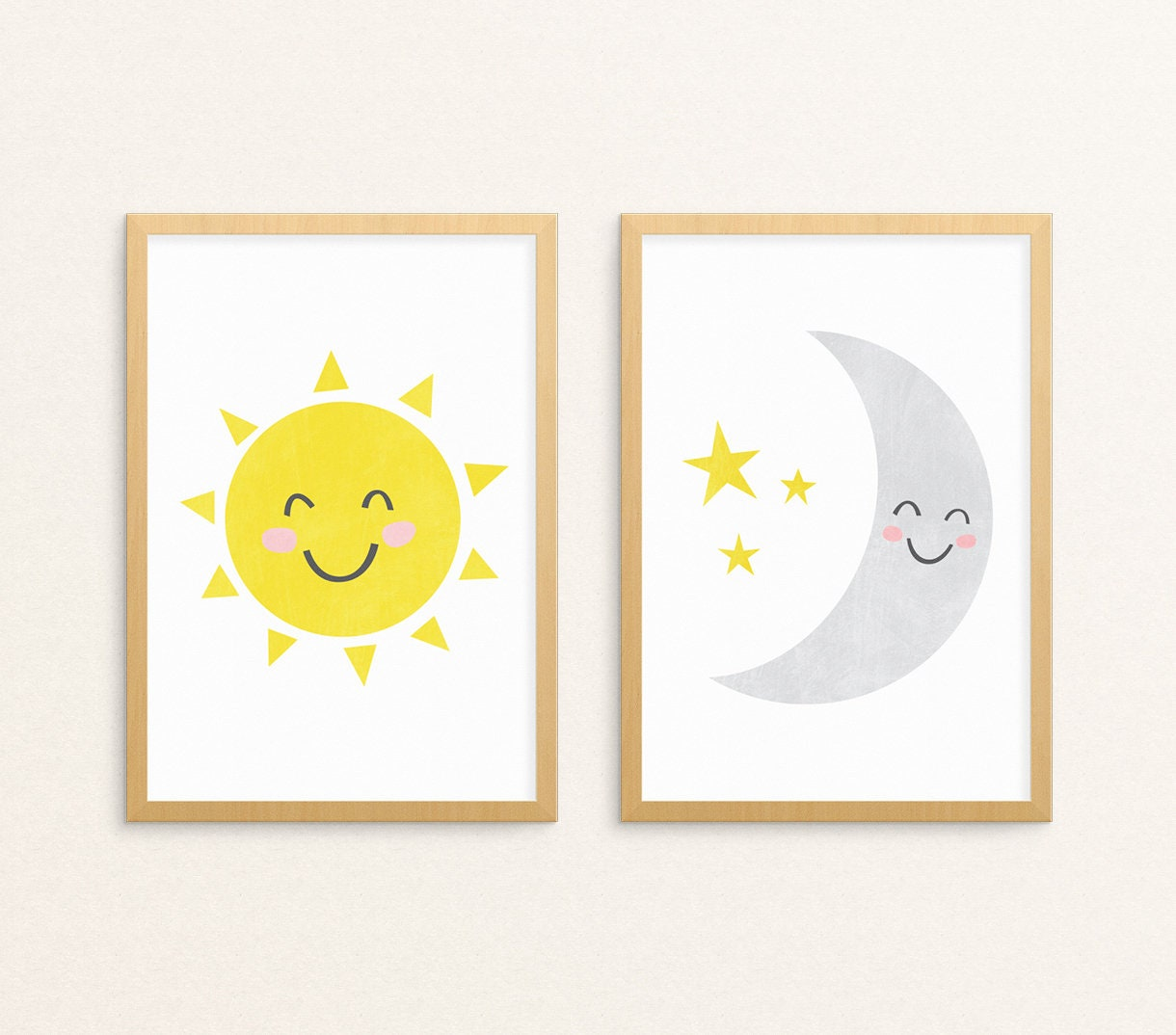 Fantastic Sun Moon Wall Decor Festooning - Art & Wall Decor ...