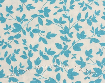 Half Yard Oh Deer Twiggy in Bright Sky Blue, Momo, Moda Fabrics, 100% Cotton Fabric