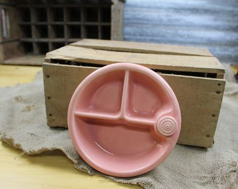 Adorable Pink Baby Bowl heated w/ original cork