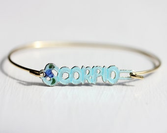 Scorpio Astrology Bracelet