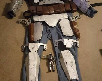 MANDALORIAN ARMOR Costume Cosplay STARWARS Custom Made To Order