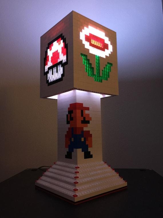 Mario Brothers LEGO Lamp