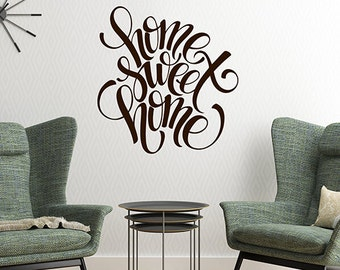 Removable Vinyl Wall Decals Words For Home By HouseHoldWords - Vinyl decals for the wall