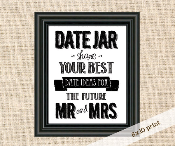 Wedding Shower Date Night Ideas