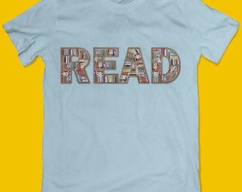 READ T-shirt | Entrepreneur Tshirt | Books Tshirt