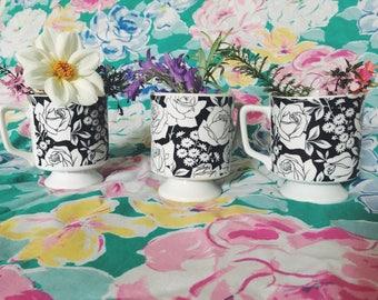 Adorable Floral Mugs