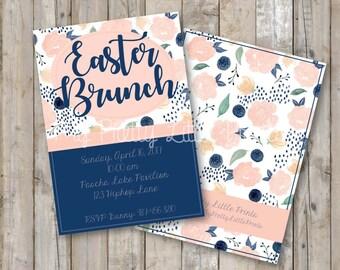 Easter Brunch Invitation *DIGITAL FILE*