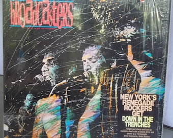 The Broadcasters, 13 Ghosts, Vintage Record Album, Vinyl LP, Rock and Roll Music, Canadian Rock Band, Renegade Rock