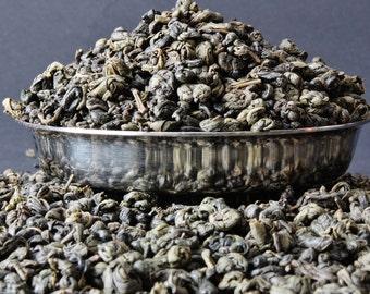 Chinese Gunpowder - Green Tea - Imperial Pinhead Tea - Tea - Green Tea - Loose Leaf Tea - Tea - Tea Gift