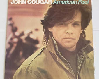 Vinyl: John Cougar, American Fool, Free Shipping