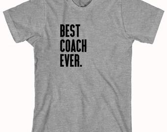 Best Coach Ever Shirt - sports, football, baseball, little league, high school sports, college sports - ID: 380