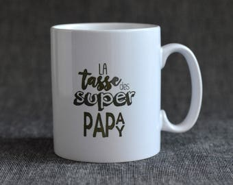 Super Papa Papy's Mug - Father's Day mug