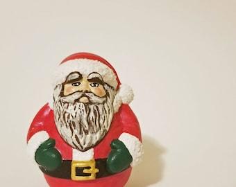 Small Ceramic Santa Claus