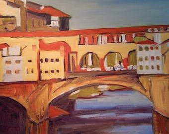 Italy  Ponte Vecchio Florence
