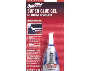 Loctite 39123 QuickTite Super Glue Gel - Instant Adhesive ( .14 OZ )