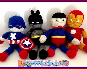 My Little Buddies Super Friends Pattern