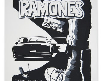 Ramones limited edition screen print