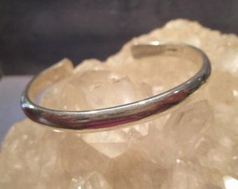 Heavy Cuff Bracelet ~Sterling Silver~ Handmade 26.2 Grams