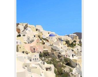 Photo landscape Greek A4