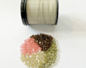 Wire & Crystal Starter Kit - Ivory/blush plus bonus pattern