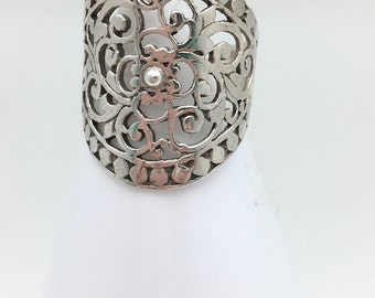 Fancy Bali Statement Ring