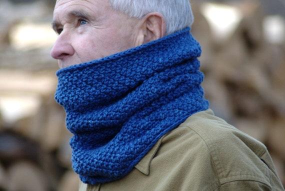 Crochet Pattern Mens Cowl Pattern Crochet Cowl Scarf Pattern