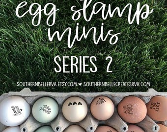Egg Stamp Minis - Series 2