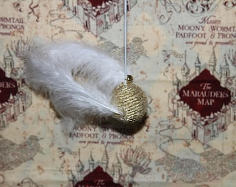 Harry Potter Golden Snitch Cat Toy